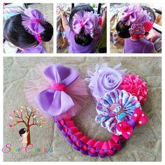 Bun wrap Bun Hairstyles, Pretty Hairstyles, Bun Wrap, Ribbon Sculpture, Making Hair Bows, Girls Bows, Some Ideas, Cute Crafts, Fabric Crafts