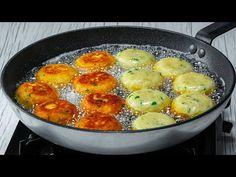 Mióta megtaláltam ezeket a gombócokat, csak így készítem a krumplit - YouTube Gnocchi, Beignets, Empanadas, Nachos, Potato Salad, Mango, Food And Drink, Cooking Recipes, Ethnic Recipes