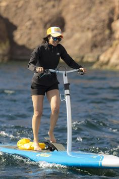 Hobie Mirage Eclipse - for when you want to walk on water ;).  These are just the coolest!