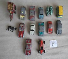 COLLECTION OF LESNEY VEHICLES  13 ITEMS  (F) - http://www.matchbox-lesney.com/38232