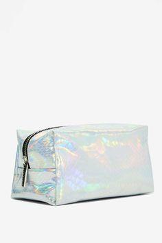Skinnydip London Jem Hologram Makeup Bag - Bags + Backpacks