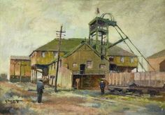 C. Stanley Read (active 1956–1959) - Glebe Colliery, County Durham