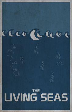 EPCOT Center PosterArt - Imagineering Disney -