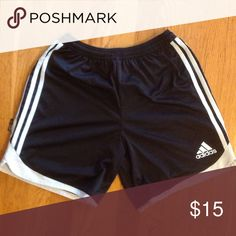 Adidas running shorts Climalite.....keeps sweat off you and cools you off........excellent condition...very cute Adidas Shorts