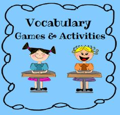 Vocabulary: Resource 3 Reflection: This website gives different games and activities you can do with your students so they can learn their vocabulary words.