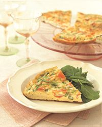 Low Fat Frittata With Smoked Salmon And Scallions - Healthy Recipe Finder | Prevention