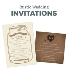 Check out our top Rustic Wedding Invitations #rusticweddinginvites