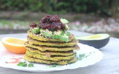 Spiced Cauliflower Fritters [Vegan, Gluten-Free] | One Green Planet