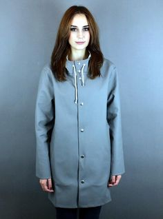 Stutterheim Raincoat GREY