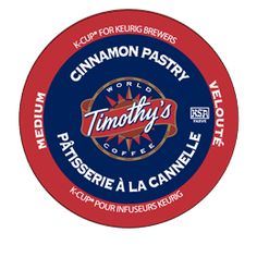 Cinnamon Pastry Coffee by Timothy's® - Keurig.com