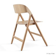 The traditional folding chair gets a modern update from designer David Irwin. Presented at the International Contemporary Furniture Fair. Brown Leather Recliner Chair, Leather Chair With Ottoman, Dining Room Table Chairs, Eames Chairs, Lounge Chairs, Arm Chairs, Luxury Office Chairs, Zebra Chair, Modern Furniture