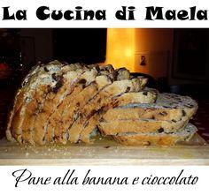 La cucina di Maela: Pane alla banana con le gocce di cioccolato