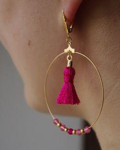 Hello Balthazar: DIY : C'est le pompon ! #earings - boucles d'oreilles #jewels