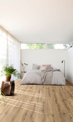 Moduleo Select Luxury Vinyl Tiles are perfect for any home. View the full range in our Glasgow showroom. Luxury Vinyl Flooring, Luxury Vinyl Tile, Moduleo Flooring, Bedroom Flooring, Pvc Flooring, Vinyl Tiles, Modern Spaces, New Room, Room Decor