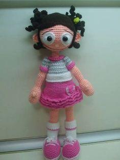 Pattern - Amigurumi Crochet Doll: