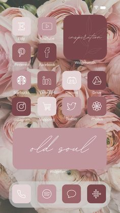 Vintage colors bring calmness and emotional enhancement to human beings. Some people are inspired to use the old colors in their wedding entourage while others use them in their houses and buildings. Be fascinated and mesmerized by our latest collection of iOS 14 Old Rose Aesthetic App Icons pack brought to you by Laconic Earthling Shop. #LaconicEarthlingShop #ios14icon #ios14idea #aesthetic #aesthetichomescreen #design #custom #widget #widgetsmith #phonehomescreen #appicon #icon #etsy #digital Lock Screen Wallpaper, Wallpaper Wallpapers, Iphone Wallpapers, Old Rose, Cream Aesthetic, Aesthetic Art, App Icon, Wedding Entourage, 2 Instagram