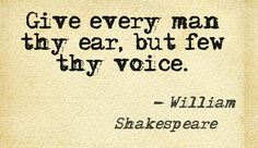 William Shakespeare quotes