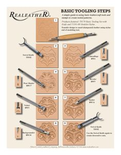 23 Clever DIY Christmas Decoration Ideas By Crafty Panda Leather Stamps, Leather Art, Leather Gifts, Leather Tooling, Tandy Leather, Sewing Leather, Tooled Leather, Diy Leather Projects, Leather Diy Crafts