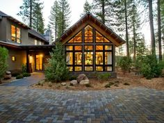 Built in the style of New Mountain architecture, this home offers a modern twist on the traditional, rustic mountain house.