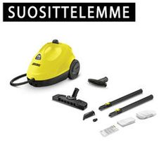 Karcher All-In-One Continuous Steam Cleaner yellow-black