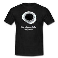 Schwarzes Spiegelei oder schwarzes Loch, je nach Phantasie