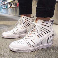 Nike Shoes - 💥New💥Nike Dunk Sky Hi 2.0 Joli ~ 8 ~ white