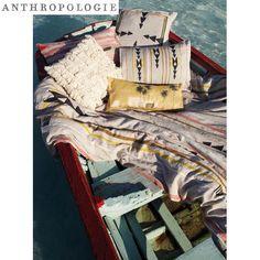 Anthropologie Isleta Sham アンソロポロジー  クッション