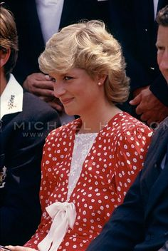 Princess Diana, Cardiff Cricket Ground, Wales, le 06 Juillet  1987