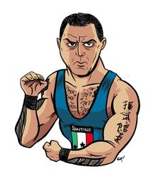 Amazing Santino Marella artwork!