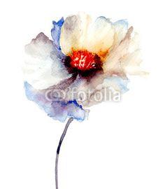 Quadro The Bud of white flower #stampasutela#stampasu#tela #regalaunquadro#venditaquadri #stampaquadrisu #plexiglassi #panello#bordato#panellobordato #quadri per#salotto Codice art:  49814788