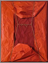 Claudio Bravo - Paquete.  Oil on Canvas