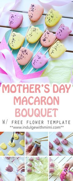 The Ultimate Macaron Template \ Macaron Projects Galore! Cakes - macaron template