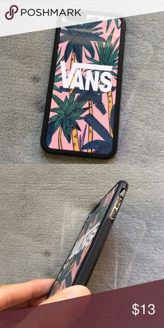 Vans Palm trees iPhone 7 , 7 plus , 6S, 6 plus 5S Brand NEW , High quality dual Rubber case PRICE IS VERY FIRM , FIRM , FIRM Please don't ask for LOWER . We don't accept any offer . BUNDLE 2 cases or more FOR 15% off <=======================> PLEASE SELECT YOUR PHONE SIZE BELLOW FOR YOUR ORDER >>>> *** ship within 24hrs*** Shipping takes 2-3 days with tracking # . Accessories Phone Cases