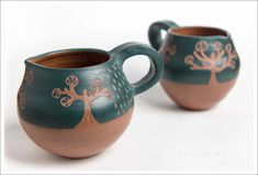 *Anatiri Cerámica*: Contenedores: cuencos, vasos, tazas.