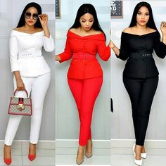 Get the best look of creative latest designs and african fashion styles that are recently trendy and . Classy Work Outfits, Classy Casual, Classy Dress, Chic Outfits, Fashion Outfits, Dress Outfits, Fashion Styles, Latest African Fashion Dresses, Looks Style