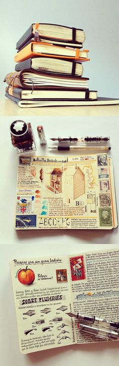 Diaries - Jose's Moleskine http://www.seaweedkisses.com/2014/07/the-journal-diaries-joses-moleskine.html