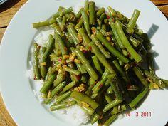 Scharfe grüne Bohnen, ein sehr leckeres Rezept aus der Kategorie Beilage. Bewertungen: 7. Durchschnitt: Ø 3,8.