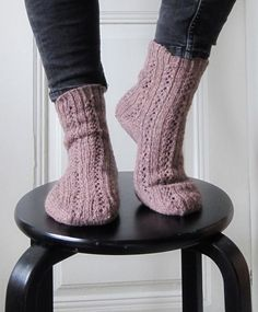 Knit the kind of easy going, kind of minimalistic socks that fit in your winter boots but still look chic if you need to take your shoes off inside! Find this pattern and more inspiration at LoveKnitting.Com.