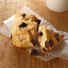 Chocolate Chunk Scones