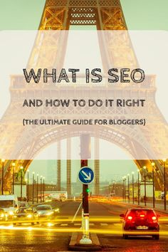 What is SEO... Do you need more web traffic for your blog? I know you do - everyone wants more traffic. But if you are new to this blogging thing your site probably won't get a lot of web traffic and you will definitely not get a lot of web traffic from search engines. But, if you are ready to do a bit (well, quite a bit) of work, you can!