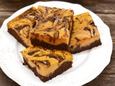 Cream cheese swirl brownies at Topisaw General Store. Healthy Desserts, Dessert Recipes, Pumpkin Recipes, Cake Cookies, No Bake Cake, Halloween, Banana Bread, Good Food, Food And Drink