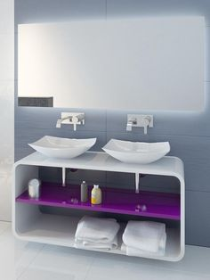 Basin cabinet for twins :)