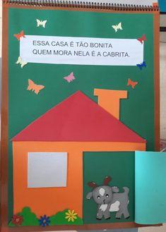"""Atividades Escolares: Livro gigante """"A casa e seu dono"""" Elias José Happy Kids, Professor, Education, School, Memes, Creative Activities For Kids, Literacy Activities, Tall Tales Activities, Classroom"""