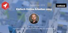 Speaker der #EOA15: Markus Albers