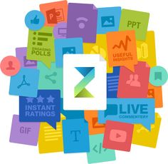 Zeetings Presentation software that supports Q&A sessions, polling, slide sharing to mobile devices, audience data collection.