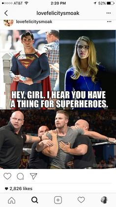 Oh trust me, if that happened they wouldn't be holding him back. Arrow Funny, Arrow Memes, Superhero Shows, Superhero Memes, The Cw Shows, Dc Tv Shows, Arrow Cast, Arrow Tv, Movies And Series