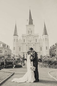 New Orleans French Quarter Wedding Photograph by Heirloom Collective http://www.storyboardwedding.com/new-orleans-french-quarter-wedding-at-place-darmes-with-celebration-second-line-parade/