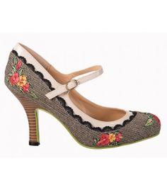 Belldandy.fr: chaussures femme, chaussures pin-up, escarpins pin-up, escarpins gothique, ballerines rockabilly, derby pin-up, escarpins glamour, chaussures rockabilly, escarpins rétro vintage