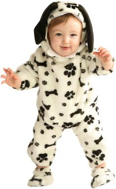 Make a wagon on dalmation stuff puppies and dress Cam as a dalmation puppy...i could go as cruella :)