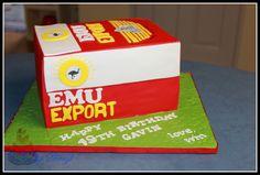 2015.117 Emu Export Beer Carton Cake #CakesbySheryl